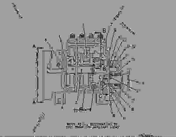 caterpillar c12 belt diagram