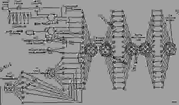 transmission schematic for 637e scraper