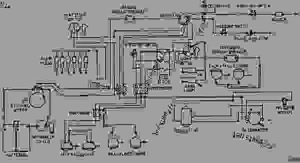 2Y1969 ELECTRICAL SYSTEM WIRING DIAGRAM - WHEEL-TYPE LOADER