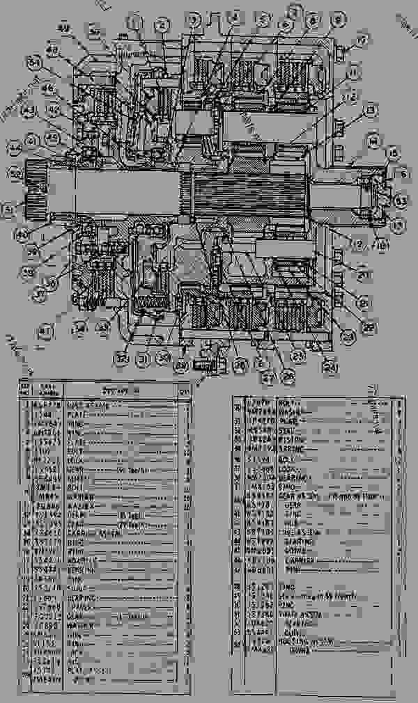 2P9311 PLANETARY GROUP - WHEEL TRACTOR-SCRAPER Caterpillar 621