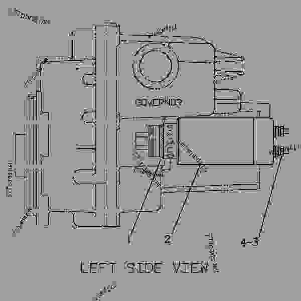 cat 3126 engine diagram starter