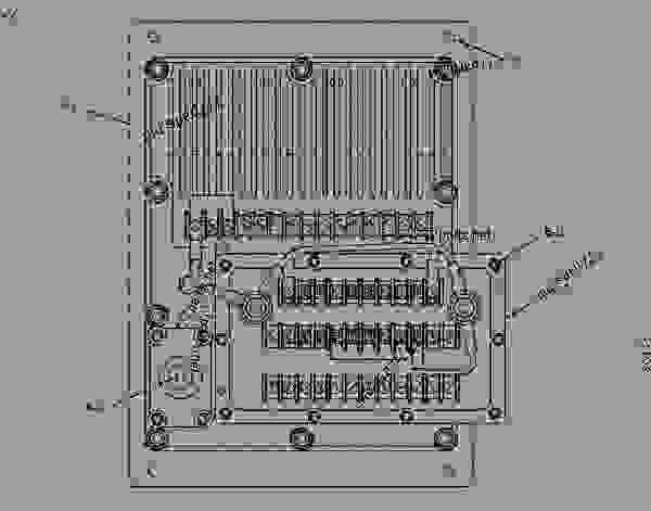 caterpillar ecm schematic