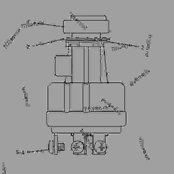 caterpillar excavator hydraulic diagram