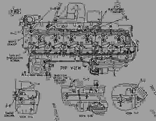 1051794 SENSOR GROUP-ENGINE - ENGINE - INDUSTRIAL Caterpillar 3126