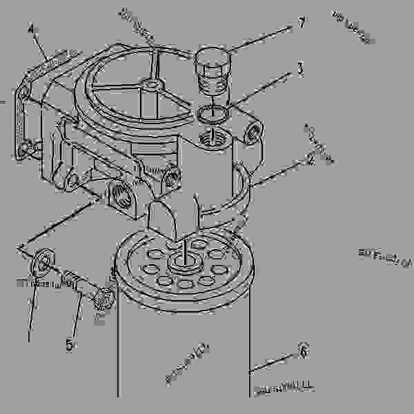 3126 cat engine belt diagram