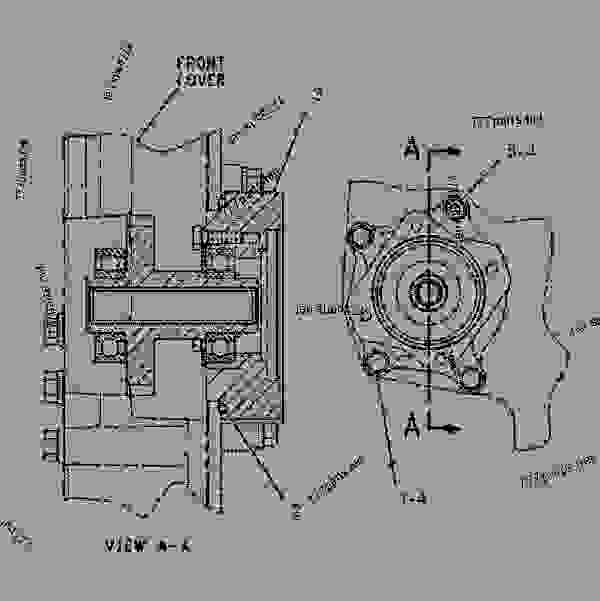 cat c15 engine parts diagram