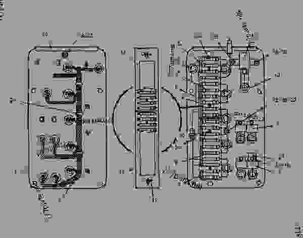 wiring diagram motor grader caterpillar 12f
