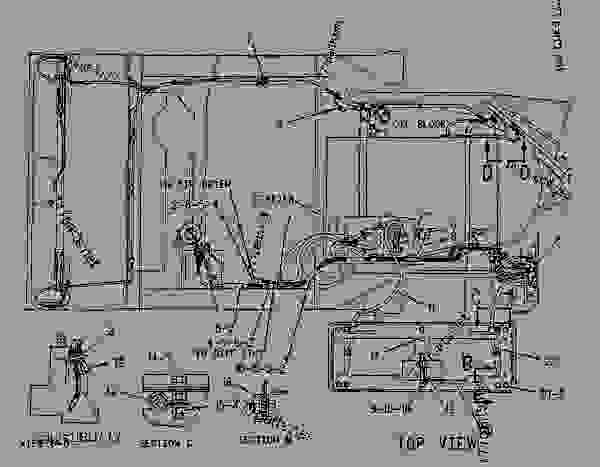 caterpillar 3304 engine block heater parts diagram