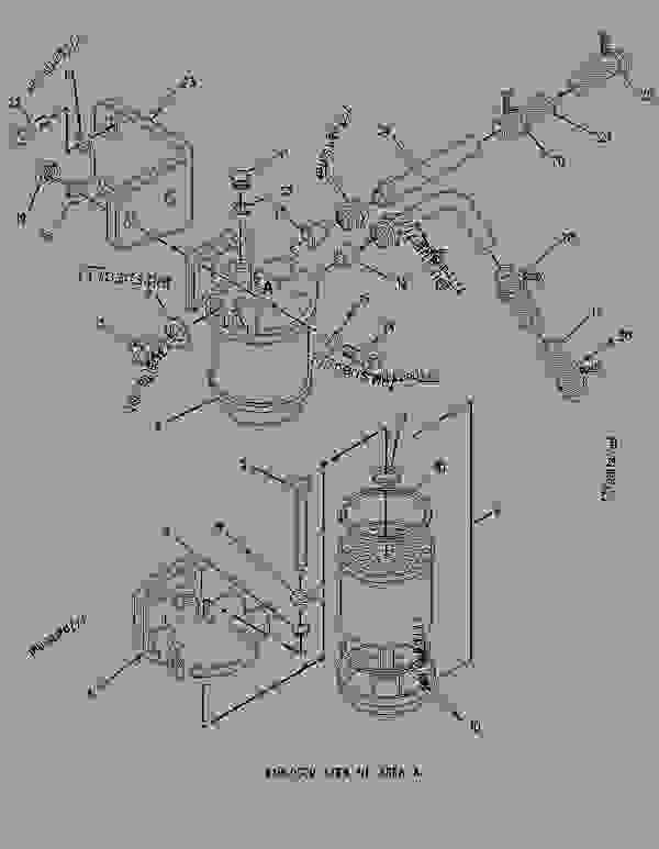 cat fuel filter kits