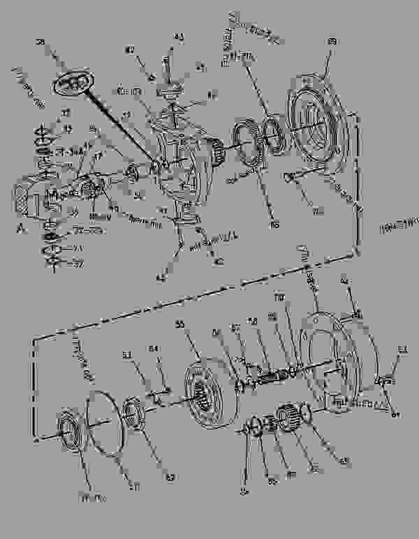 wiring diagram cat 416b backhoe