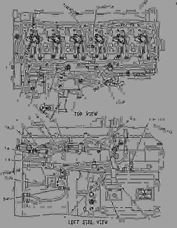 1889869 WIRING GROUP-ELECTRONIC CONTROL - CHALLENGER Caterpillar