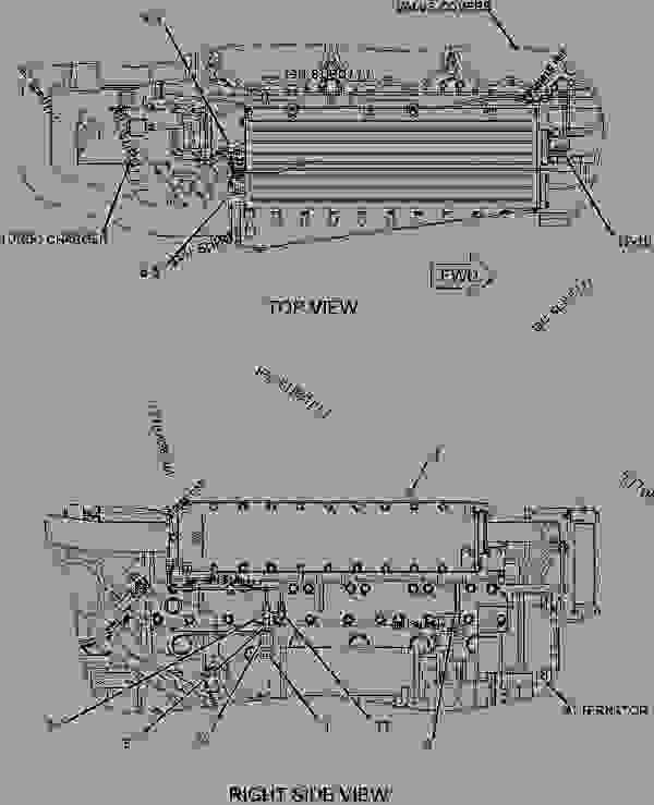 Caterpillar C12 Marine Engine Diagram On C12 Caterpillar Engine Head
