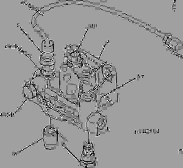 cat engine 3406e fuel base diagram