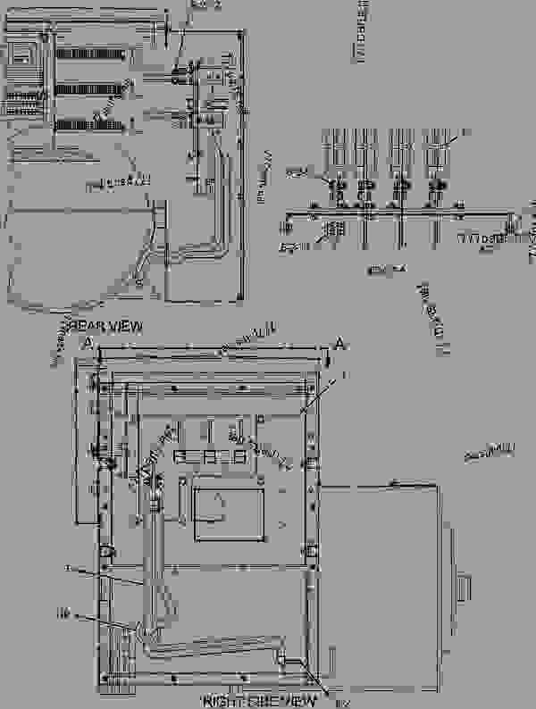 cat 40 pin ecm wiring diagram