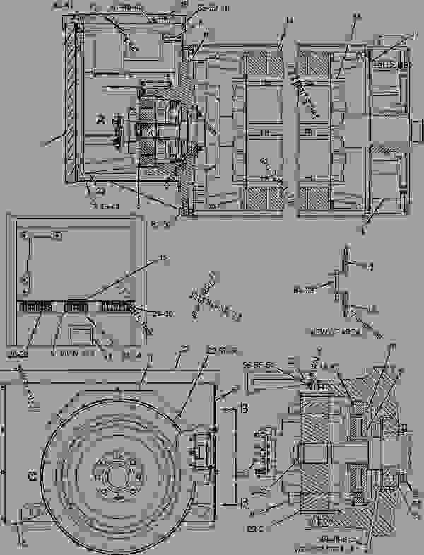 caterpillar 3516 engine diagram