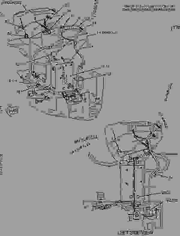 cat mini excavator wiring diagram