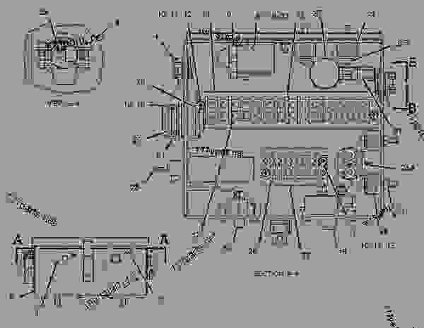 caterpillar 3126 marine wiring diagrams