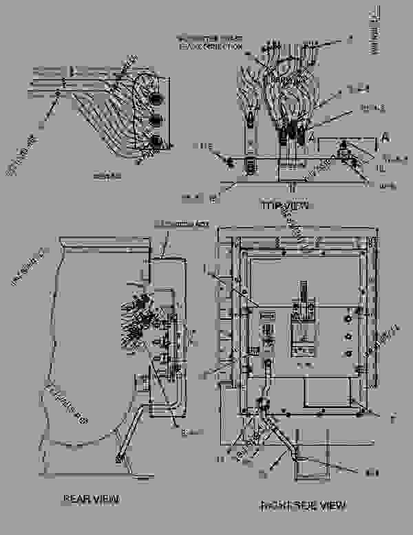 cat g3306 generator set electrical system diagram manual