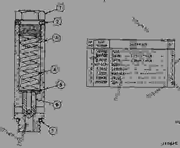 cat 951c track loader diagram