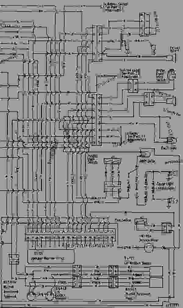 WIRING DIAGRAM - TRACK-TYPE LOADER Caterpillar 963 - 963 TRACK TYPE