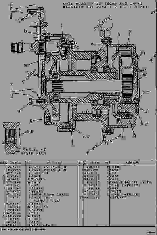 komatsu d20 wiring diagram
