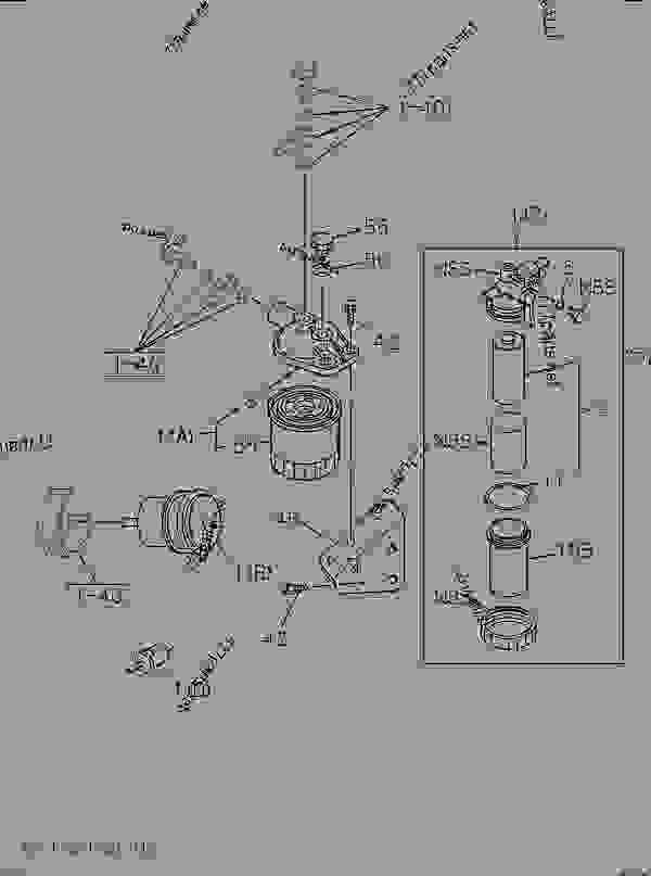 isuzu fuel filter
