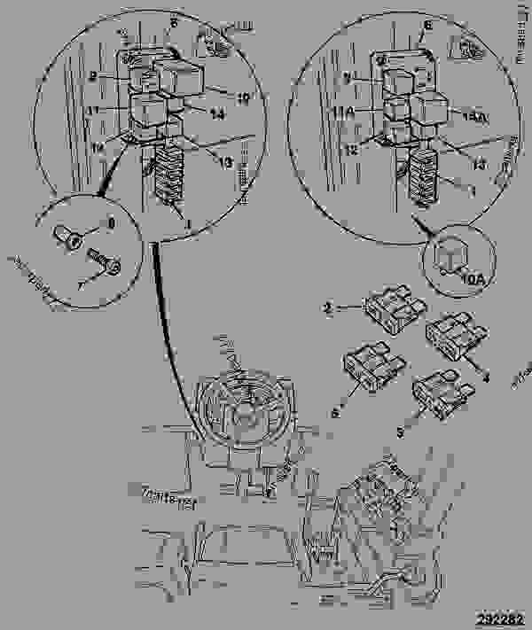 john deere 2140 fuse box diagram