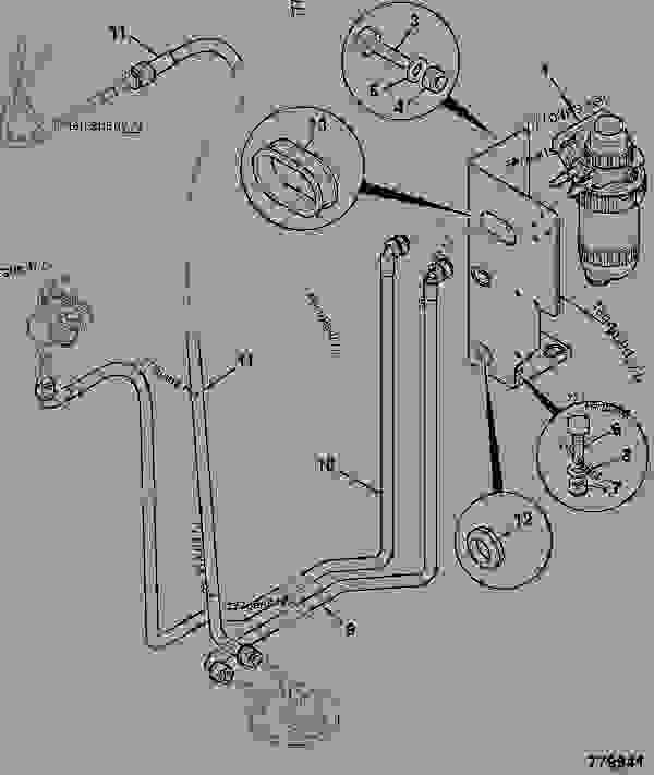 toyota diesel fuel filter micron