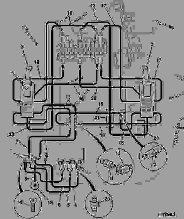 jcb 214 starter bedradings schema
