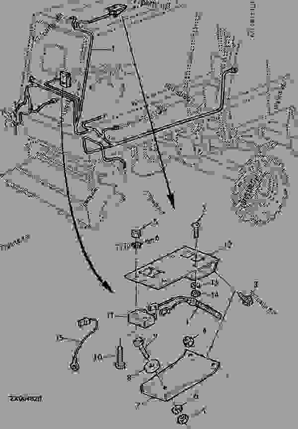 wiring harness for combines