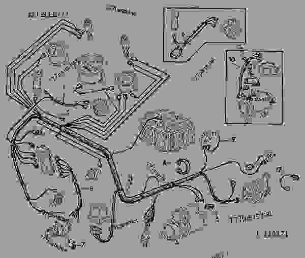 John Deere 1020 Wiring Harness Wiring Diagram 2019