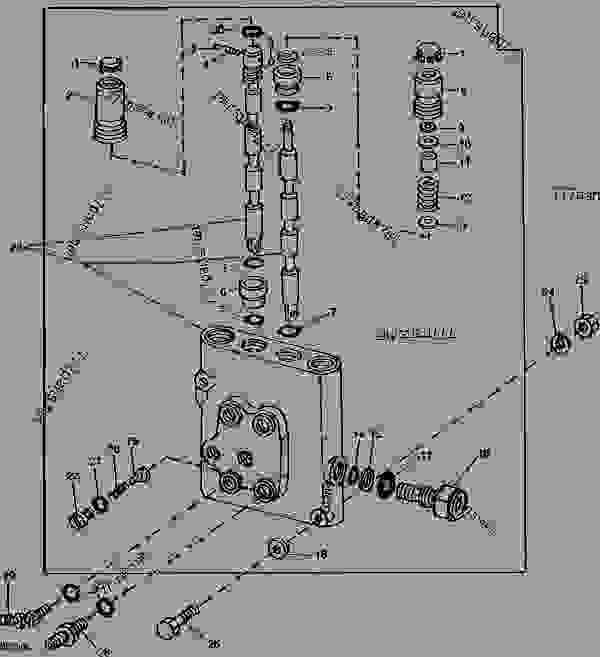 SELECTIVE CONTROL VALVE HOUSING (CESSNA 30932 CAV) I09 - TRACTOR