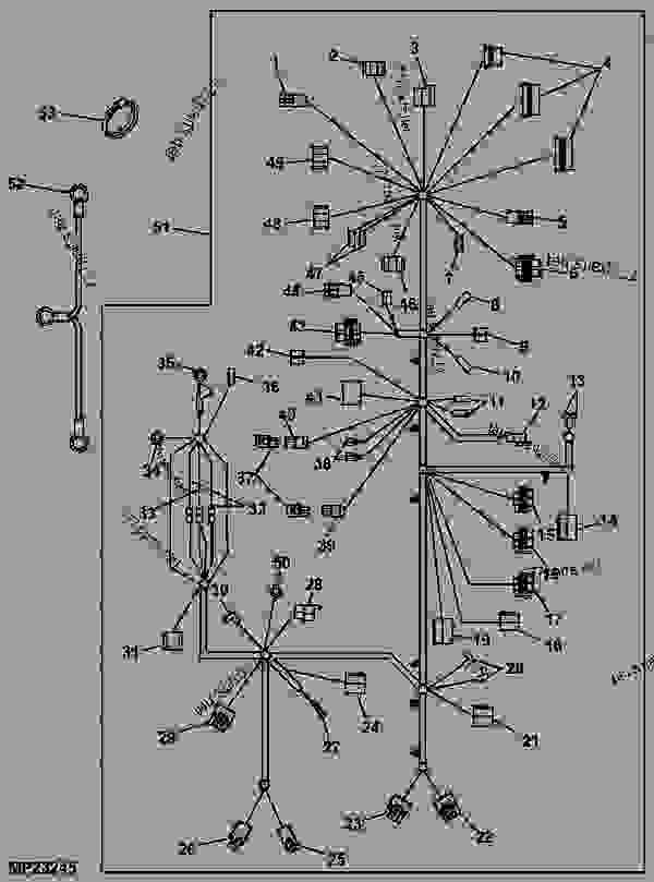deere wiring harness