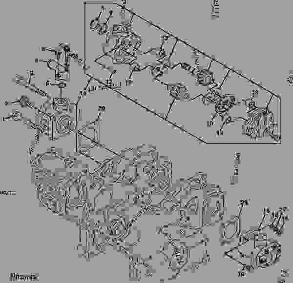 john deere gator transmission parts