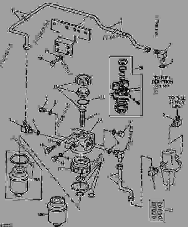 John Deere 310 Backhoe Parts Diagram