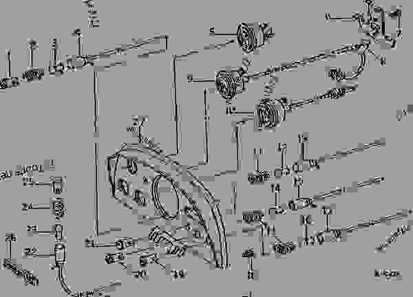 john deere 4240 starter wiring diagram