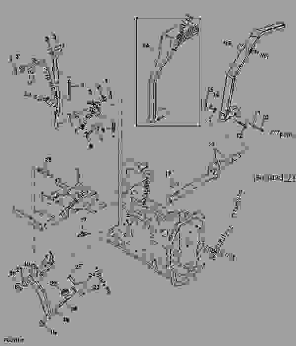 PARKING BRAKE (4100H) - TRACTOR, COMPACT UTILITY John Deere 4100