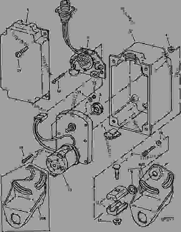 john deere 9500 combine electrical schematic