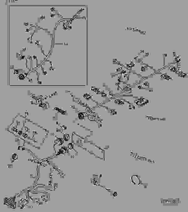 wiring diagram for 566 john deere round baler