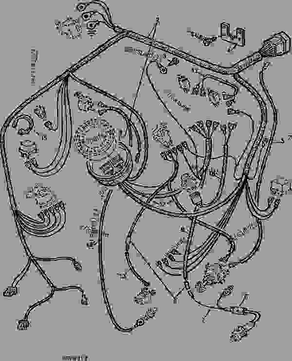 john deere wiring harness