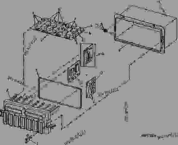 john deere 9500 combine fuse box location