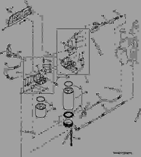 3501 (FUEL FILTER) 01H21 - ENGINE, POWERTECH John Deere 81L