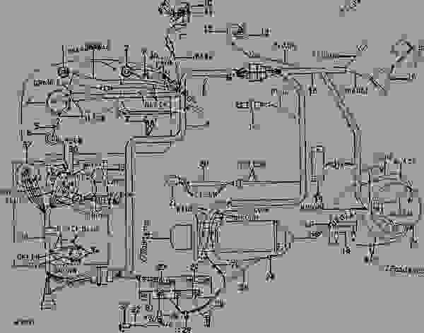 john deere 4020 wiring harness