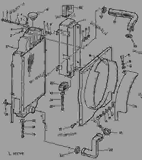 john deere 1010 tractor alternator wiring diagram