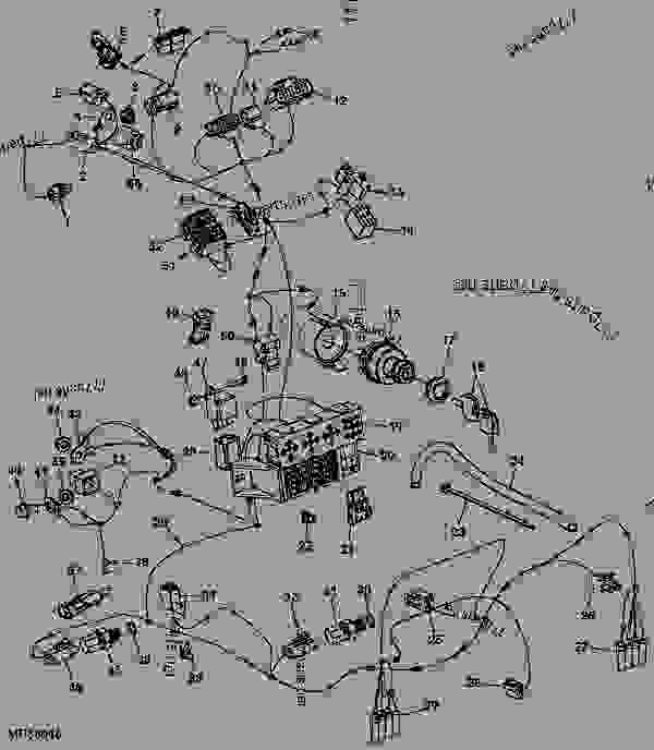 john deere 4320 wiring harness