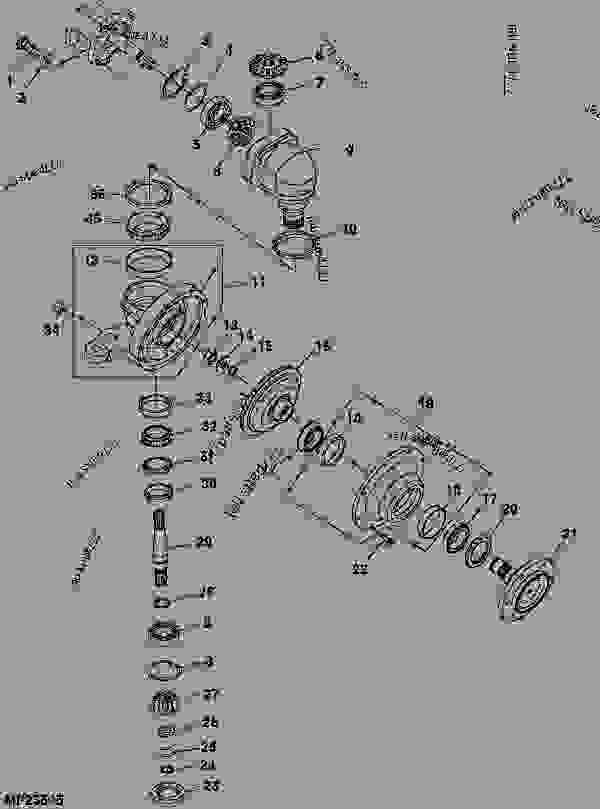 john deere 4600 tractor wiring diagram