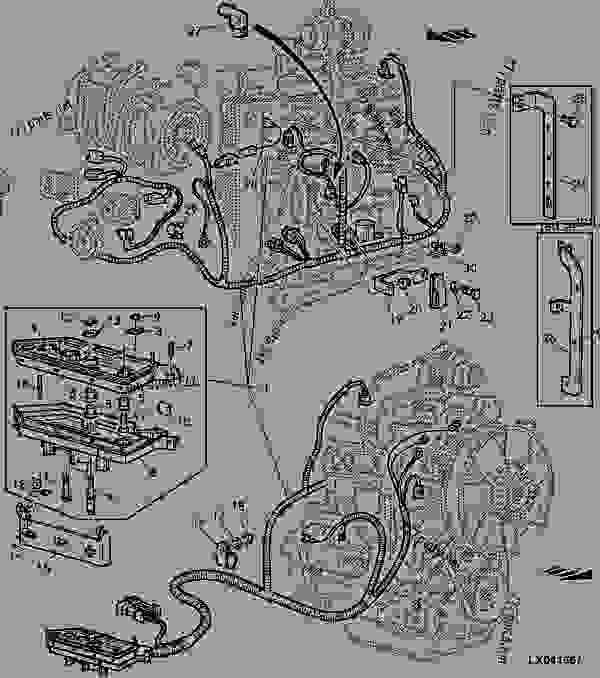 john deere 4045 engine wiring diagram