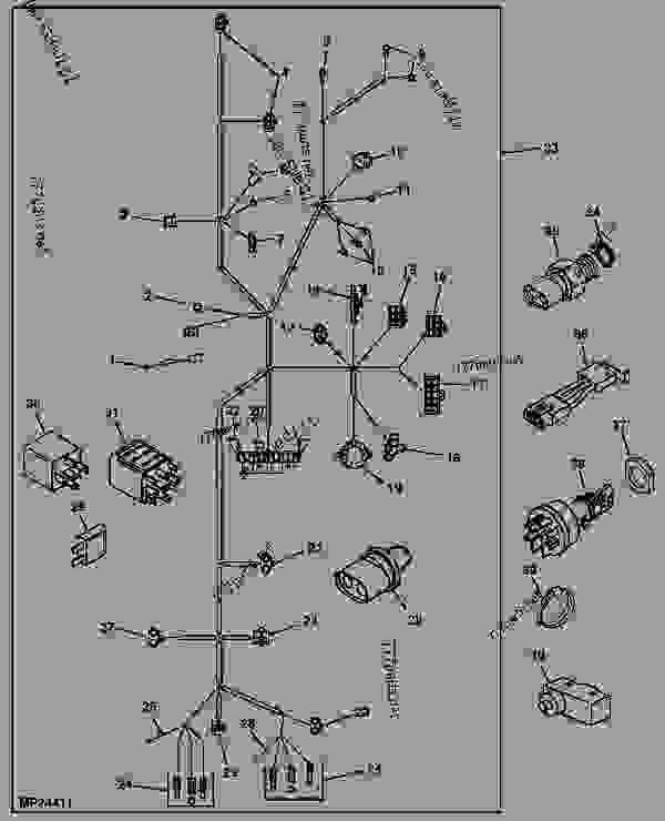 John Deere 4400 Wiring Diagram Wiring Diagram