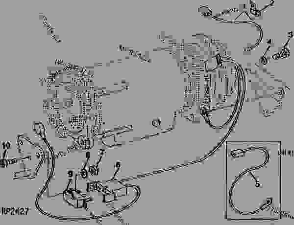john deere 4045t engine wiring diagram