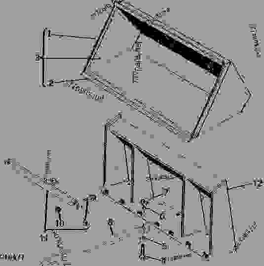 John Deere 250 Skid Loader Wiring Diagrams - Auto Electrical Wiring